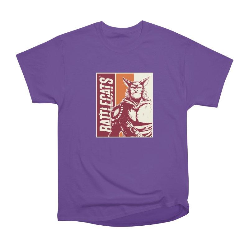 Battlecats - Mekkar Women's Heavyweight Unisex T-Shirt by MadCaveStudios's Artist Shop