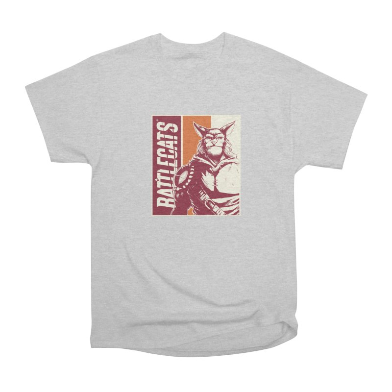 Battlecats - Mekkar Women's Heavyweight Unisex T-Shirt by Mad Cave Studios's Artist Shop