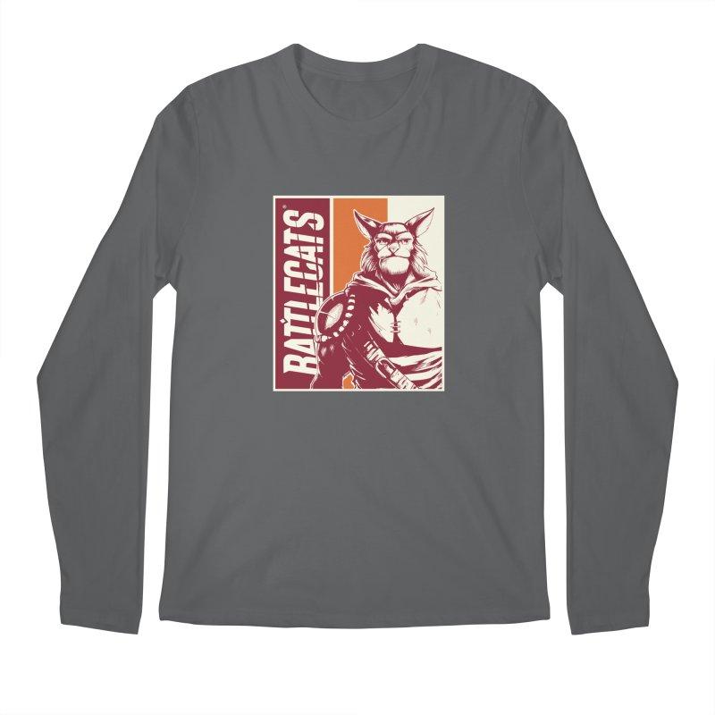 Battlecats - Mekkar Men's Regular Longsleeve T-Shirt by Mad Cave Studios's Artist Shop