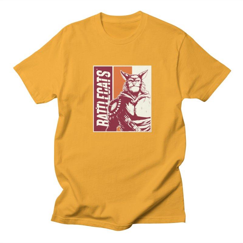Battlecats - Mekkar Men's Regular T-Shirt by Mad Cave Studios's Artist Shop