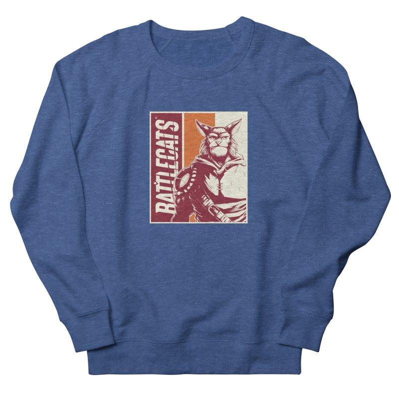 Battlecats - Mekkar Women's French Terry Sweatshirt by Mad Cave Studios's Artist Shop