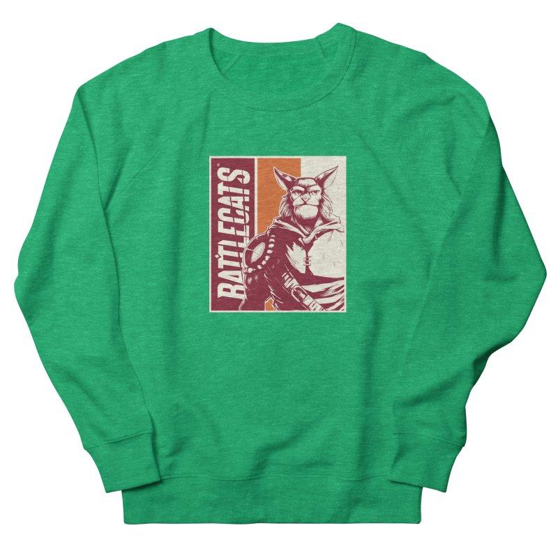 Battlecats - Mekkar Men's French Terry Sweatshirt by Mad Cave Studios's Artist Shop