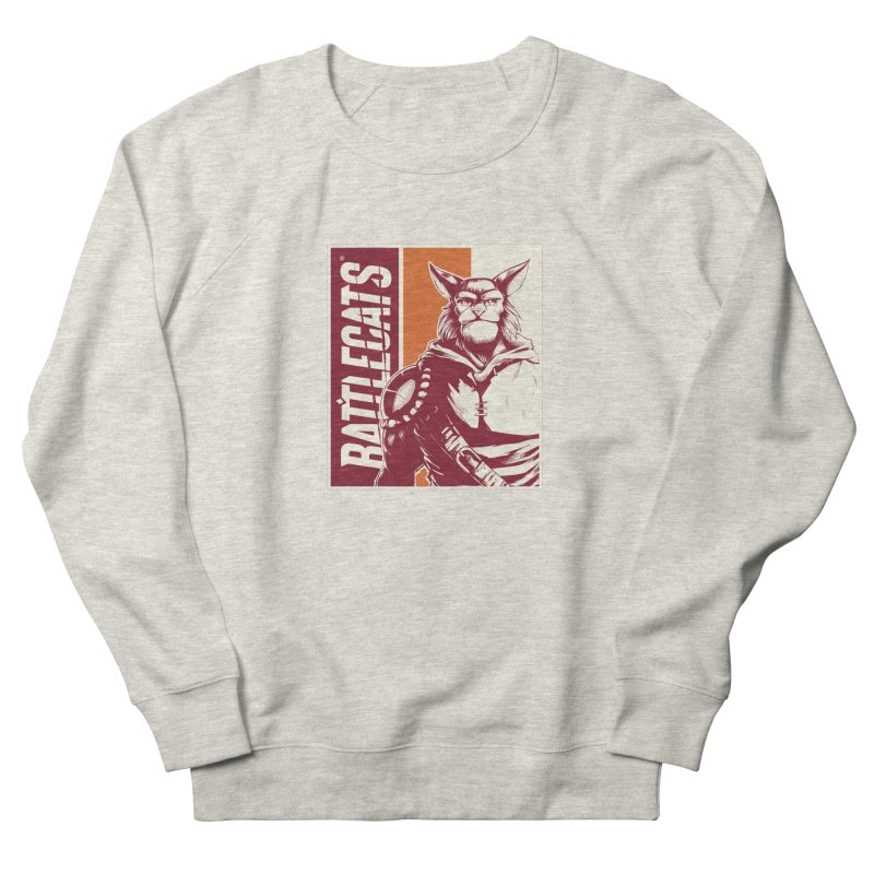 Battlecats - Mekkar Men's French Terry Sweatshirt by Mad Cave Studios's Artist Shop