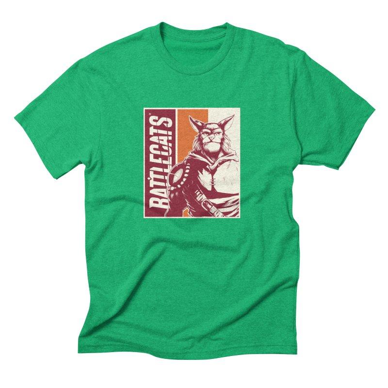 Battlecats - Mekkar Men's Triblend T-Shirt by Mad Cave Studios's Artist Shop