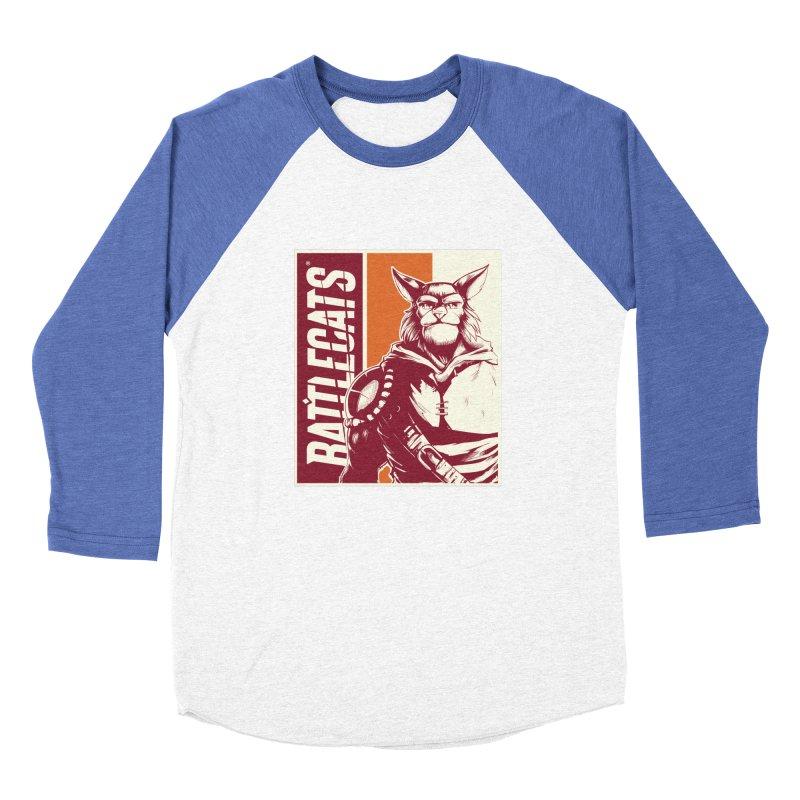 Battlecats - Mekkar Women's Baseball Triblend Longsleeve T-Shirt by Mad Cave Studios's Artist Shop
