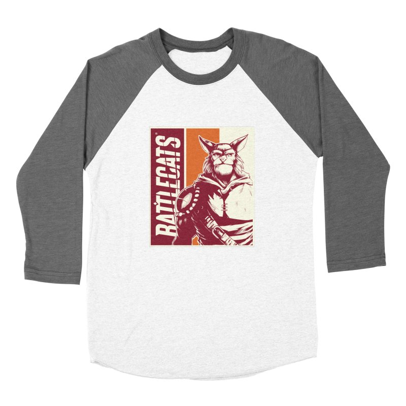 Battlecats - Mekkar Women's Baseball Triblend Longsleeve T-Shirt by Mad Cave Studios's Artist Shop