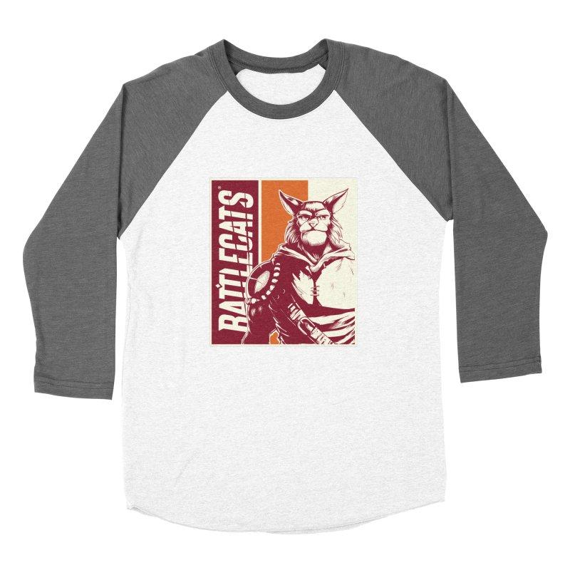 Battlecats - Mekkar Men's Baseball Triblend Longsleeve T-Shirt by Mad Cave Studios's Artist Shop