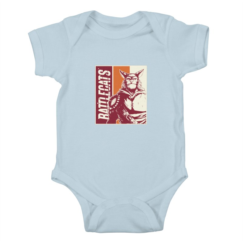 Battlecats - Mekkar Kids Baby Bodysuit by Mad Cave Studios's Artist Shop
