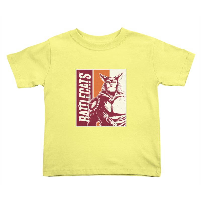 Battlecats - Mekkar Kids Toddler T-Shirt by Mad Cave Studios's Artist Shop