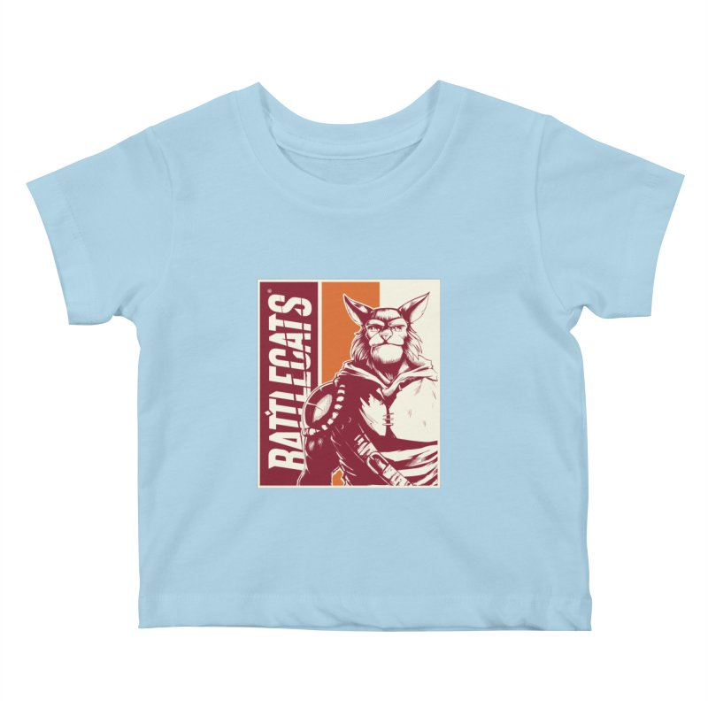 Battlecats - Mekkar Kids Baby T-Shirt by Mad Cave Studios's Artist Shop