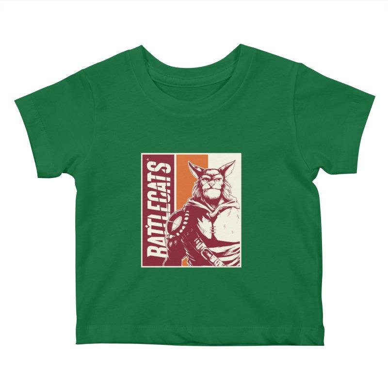 Battlecats - Mekkar Kids Baby T-Shirt by Mad Cave Studios's Artist Shop