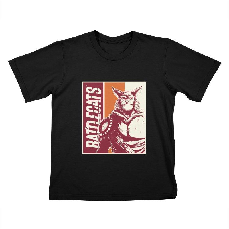 Battlecats - Mekkar Kids T-Shirt by Mad Cave Studios's Artist Shop