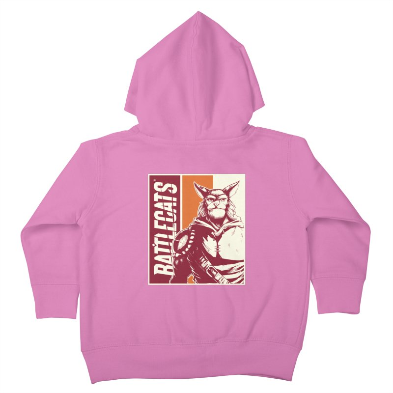 Battlecats - Mekkar Kids Toddler Zip-Up Hoody by Mad Cave Studios's Artist Shop