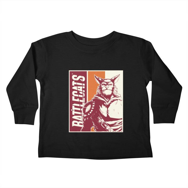 Battlecats - Mekkar Kids Toddler Longsleeve T-Shirt by Mad Cave Studios's Artist Shop