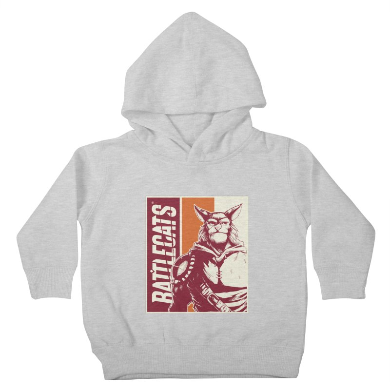 Battlecats - Mekkar Kids Toddler Pullover Hoody by Mad Cave Studios's Artist Shop