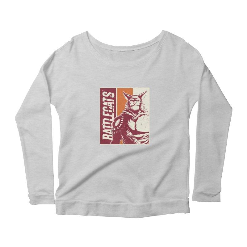 Battlecats - Mekkar Women's Scoop Neck Longsleeve T-Shirt by Mad Cave Studios's Artist Shop