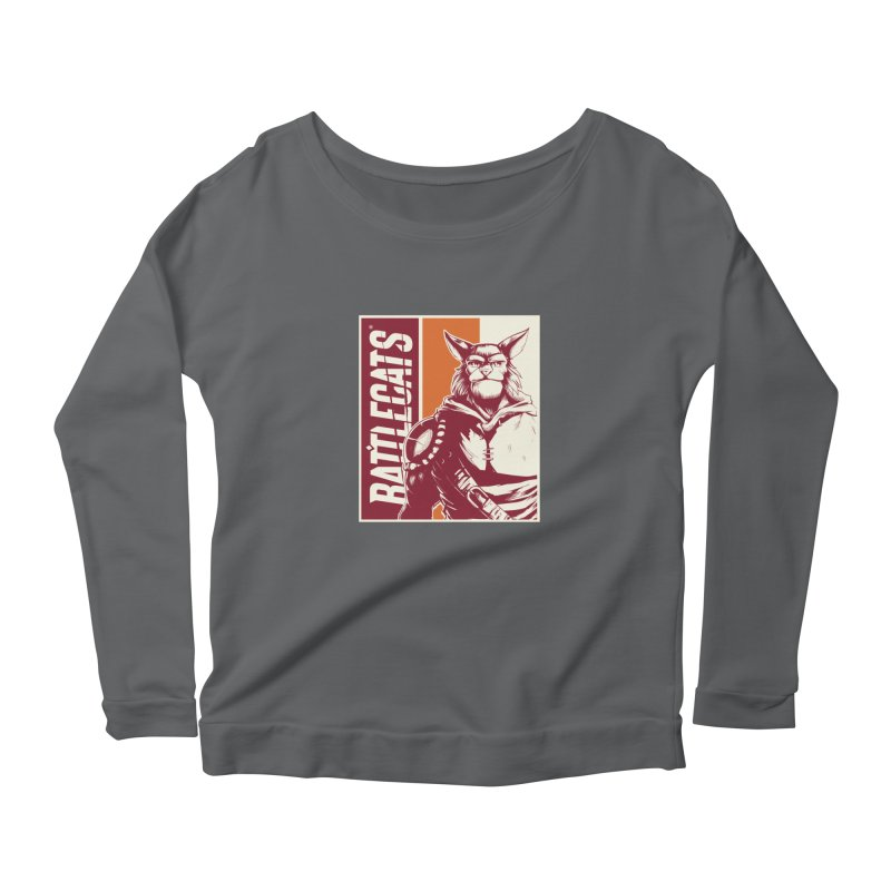 Battlecats - Mekkar Women's Scoop Neck Longsleeve T-Shirt by Mad Cave Studios's Artist Shop