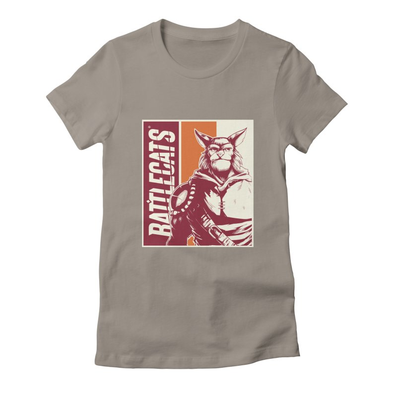 Battlecats - Mekkar Women's Fitted T-Shirt by MadCaveStudios's Artist Shop