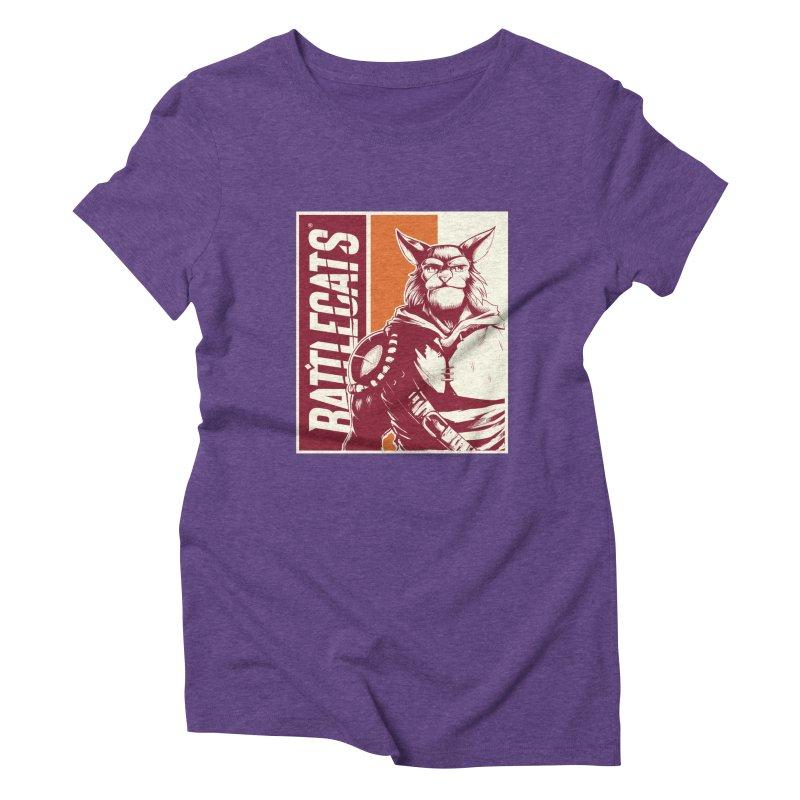 Battlecats - Mekkar Women's Triblend T-Shirt by Mad Cave Studios's Artist Shop