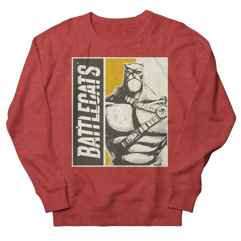 Battlecats - Zorien Men's French Terry Sweatshirt by MadCaveStudios's Artist Shop