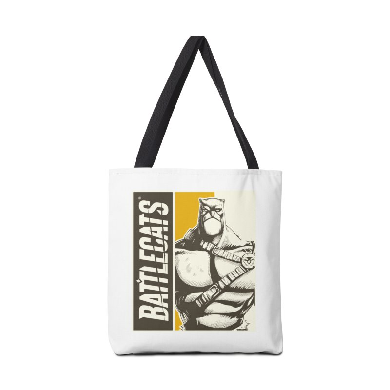 Battlecats - Zorien Accessories Tote Bag Bag by Mad Cave Studios's Artist Shop