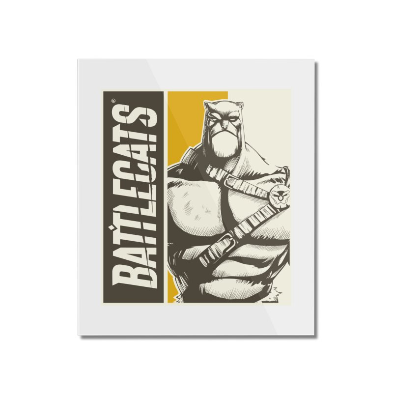 Battlecats - Zorien Home Mounted Acrylic Print by Mad Cave Studios's Artist Shop