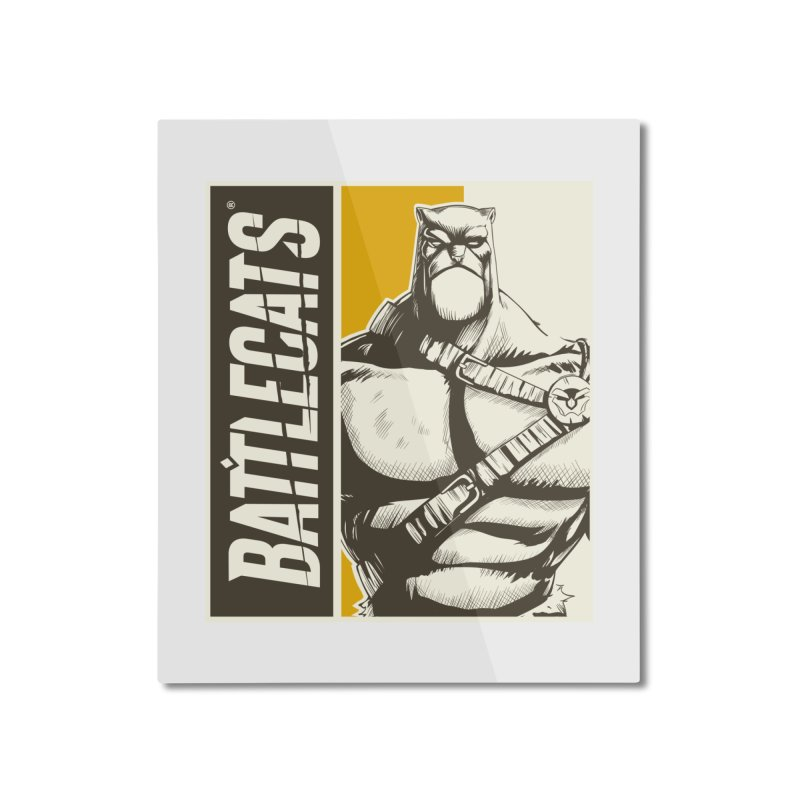 Battlecats - Zorien Home Mounted Aluminum Print by Mad Cave Studios's Artist Shop