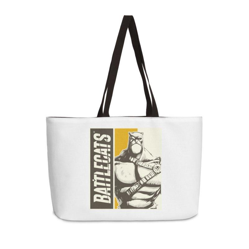 Battlecats - Zorien Accessories Weekender Bag Bag by Mad Cave Studios's Artist Shop