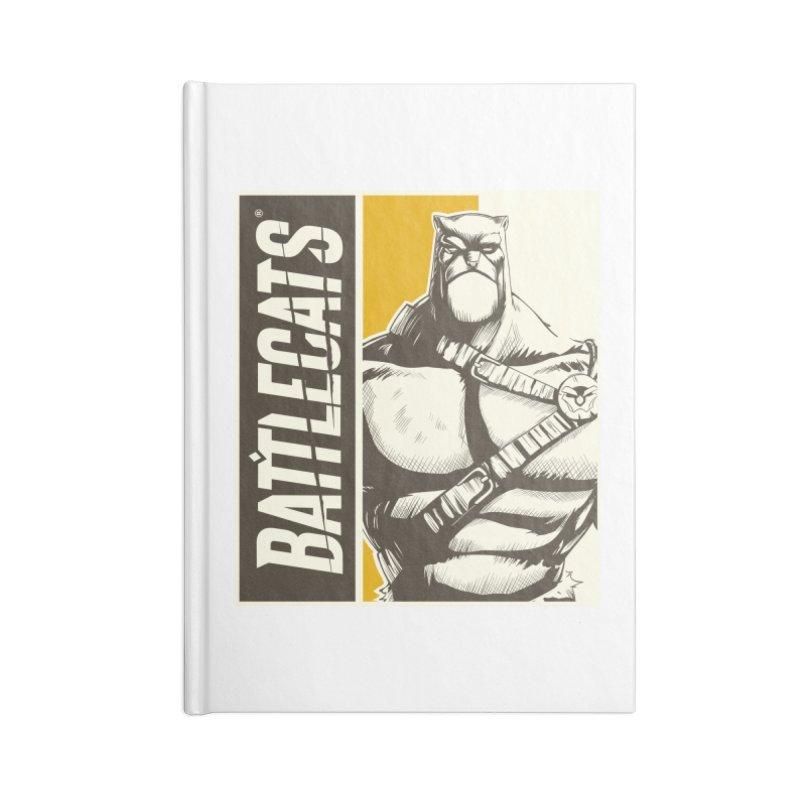 Battlecats - Zorien Accessories Lined Journal Notebook by Mad Cave Studios's Artist Shop