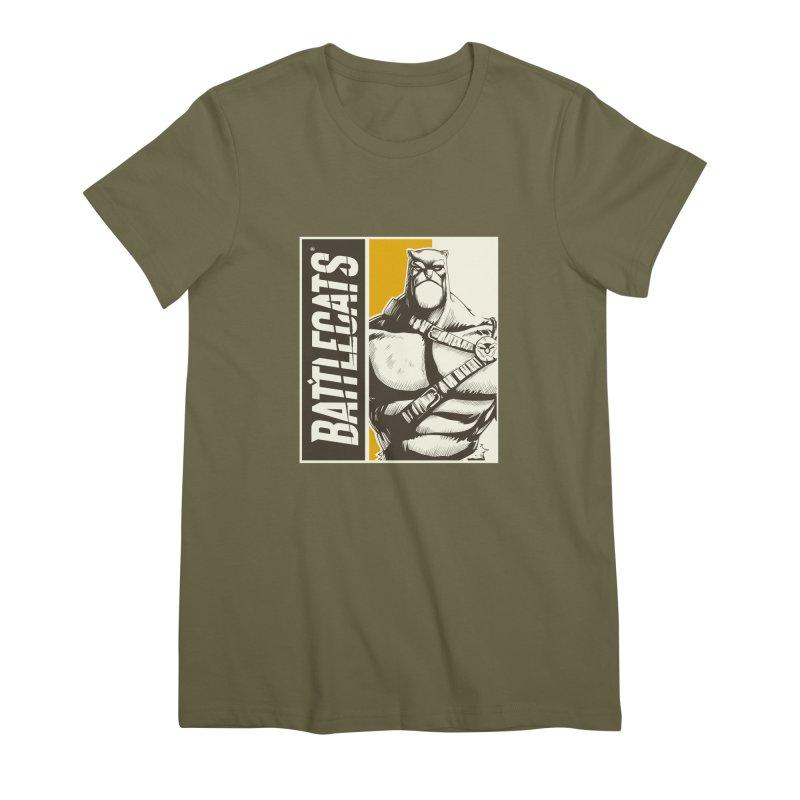 Battlecats - Zorien Women's Premium T-Shirt by Mad Cave Studios's Artist Shop