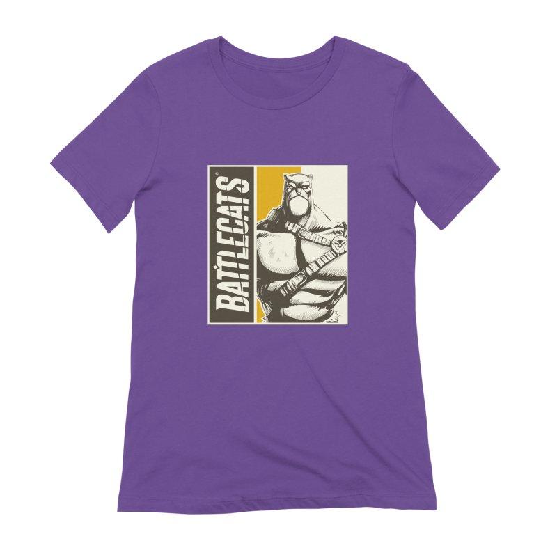 Battlecats - Zorien Women's Extra Soft T-Shirt by Mad Cave Studios's Artist Shop