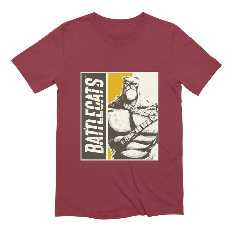 Battlecats - Zorien Men's Extra Soft T-Shirt by MadCaveStudios's Artist Shop