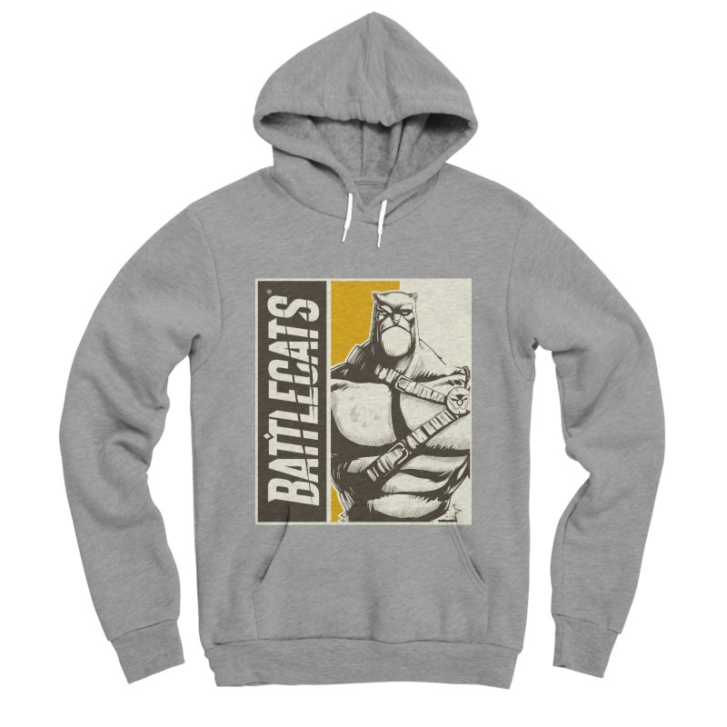 Battlecats - Zorien Men's Sponge Fleece Pullover Hoody by Mad Cave Studios's Artist Shop