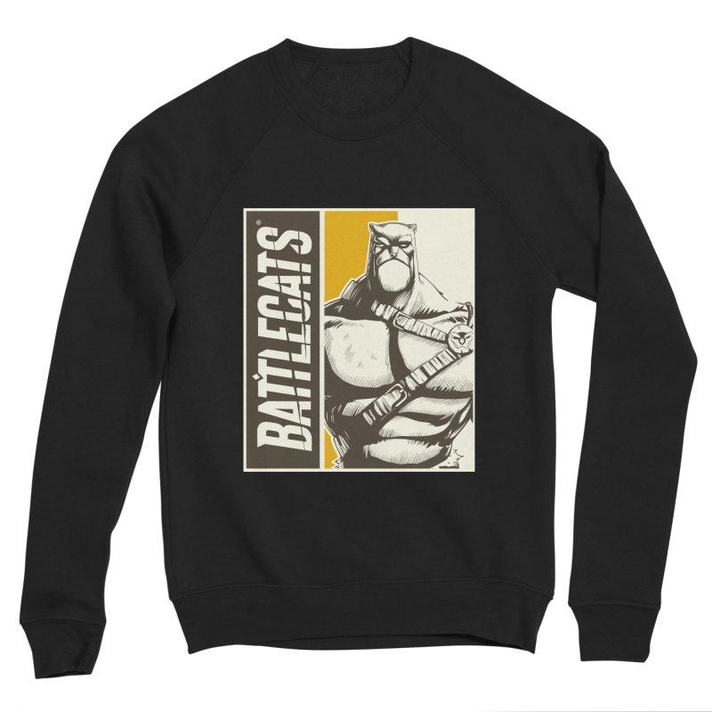 Battlecats - Zorien Men's Sponge Fleece Sweatshirt by Mad Cave Studios's Artist Shop
