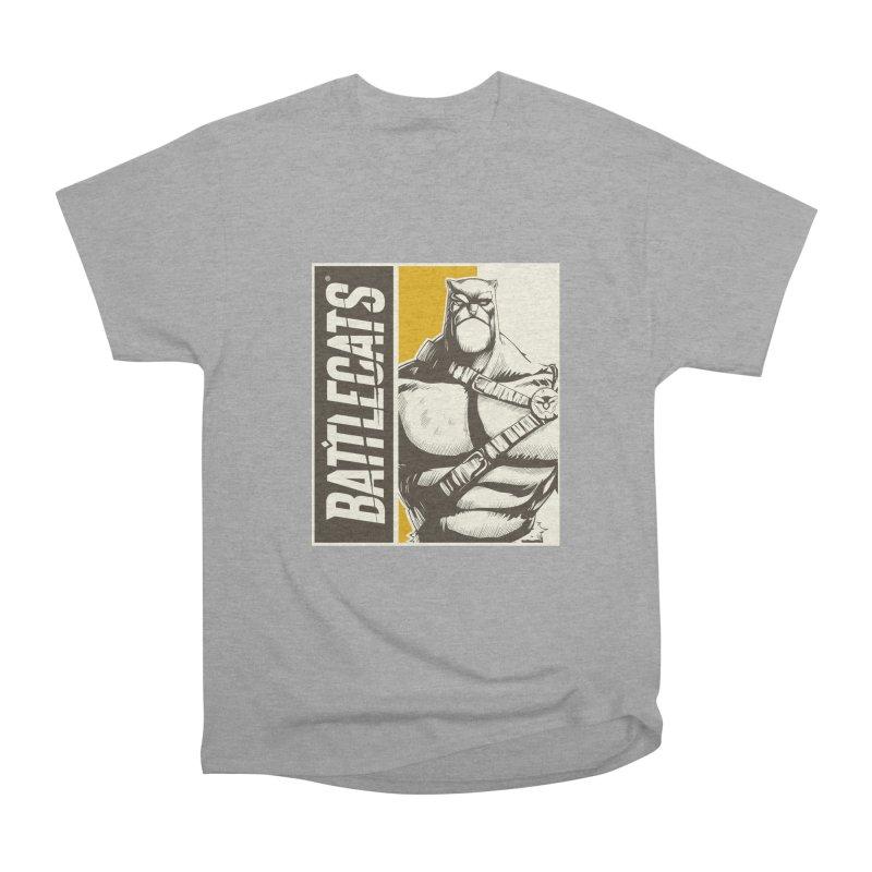 Battlecats - Zorien Men's Heavyweight T-Shirt by Mad Cave Studios's Artist Shop