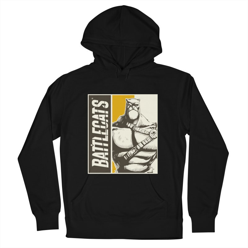 Battlecats - Zorien Women's French Terry Pullover Hoody by Mad Cave Studios's Artist Shop