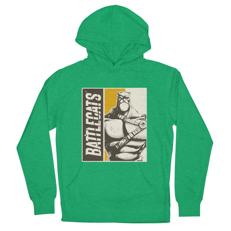 Battlecats - Zorien Men's French Terry Pullover Hoody by Mad Cave Studios's Artist Shop