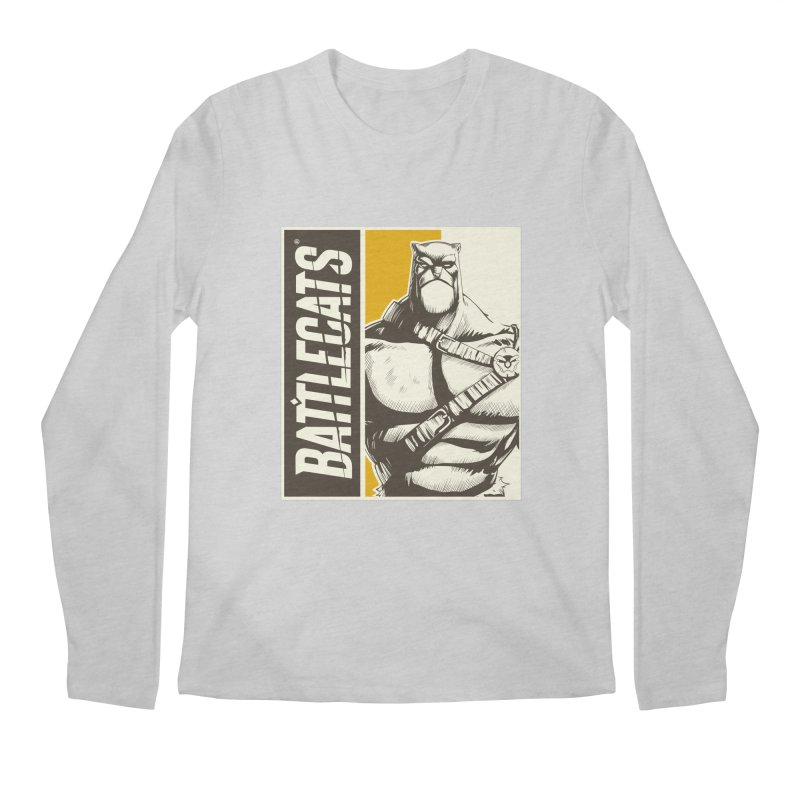 Battlecats - Zorien Men's Regular Longsleeve T-Shirt by Mad Cave Studios's Artist Shop