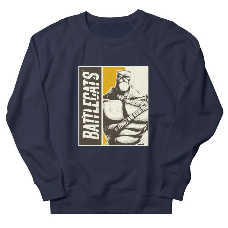 Battlecats - Zorien Women's French Terry Sweatshirt by Mad Cave Studios's Artist Shop
