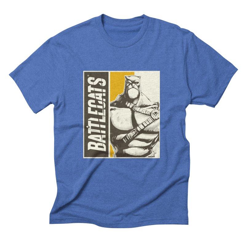 Battlecats - Zorien Men's Triblend T-Shirt by Mad Cave Studios's Artist Shop