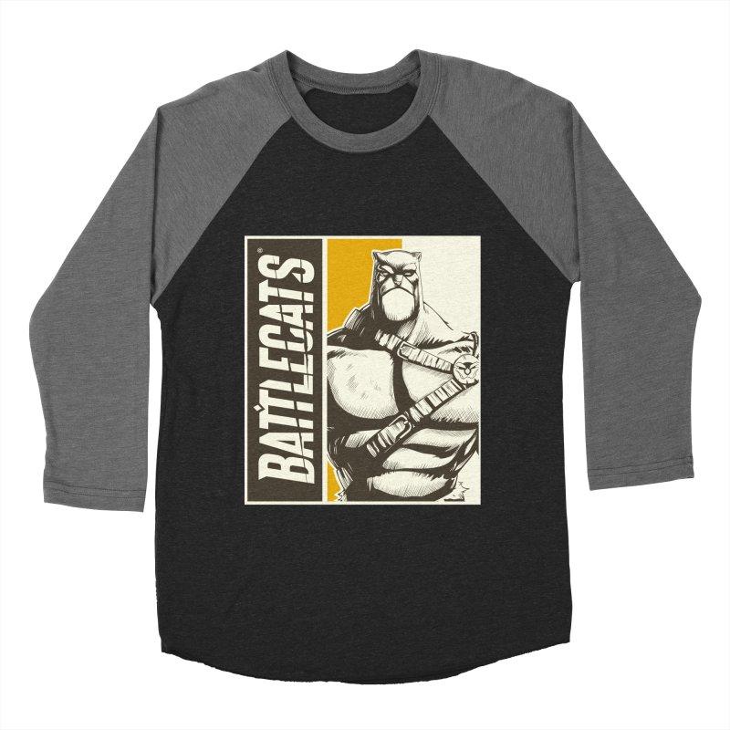 Battlecats - Zorien Women's Baseball Triblend Longsleeve T-Shirt by Mad Cave Studios's Artist Shop