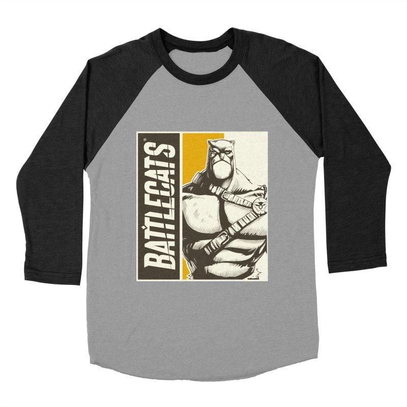 Battlecats - Zorien Men's Baseball Triblend Longsleeve T-Shirt by Mad Cave Studios's Artist Shop