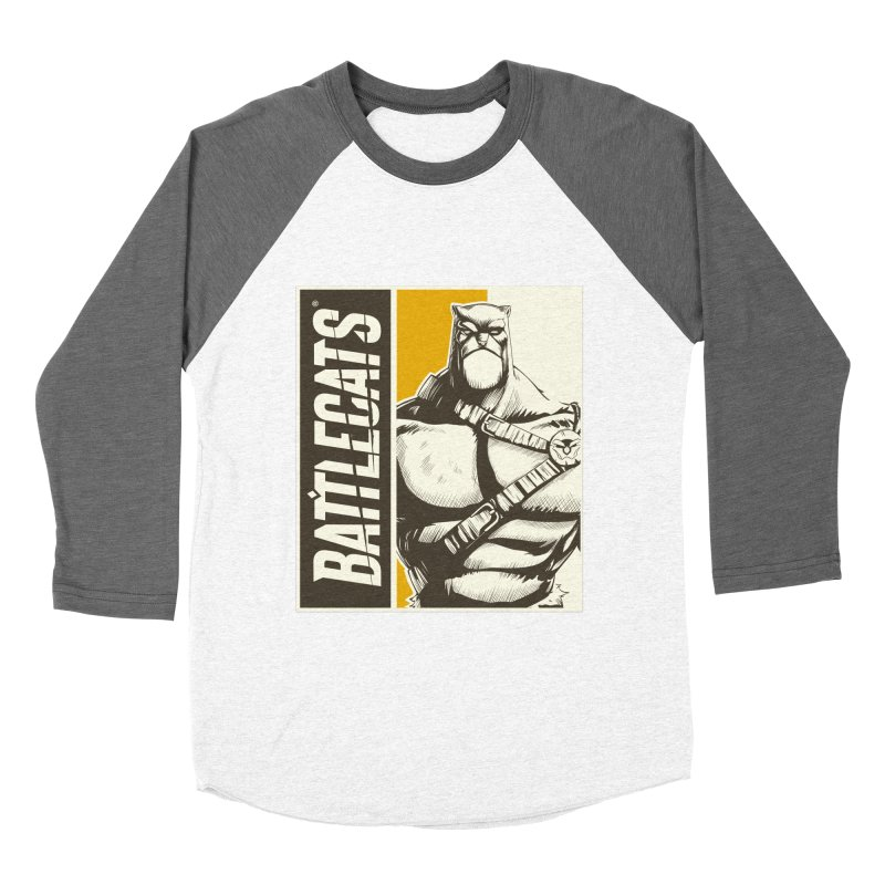 Battlecats - Zorien Men's Baseball Triblend Longsleeve T-Shirt by Mad Cave Studios's Artist Shop