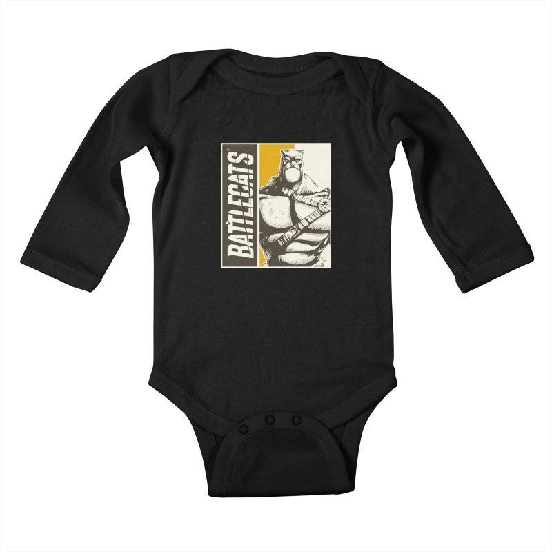Battlecats - Zorien Kids Baby Longsleeve Bodysuit by MadCaveStudios's Artist Shop
