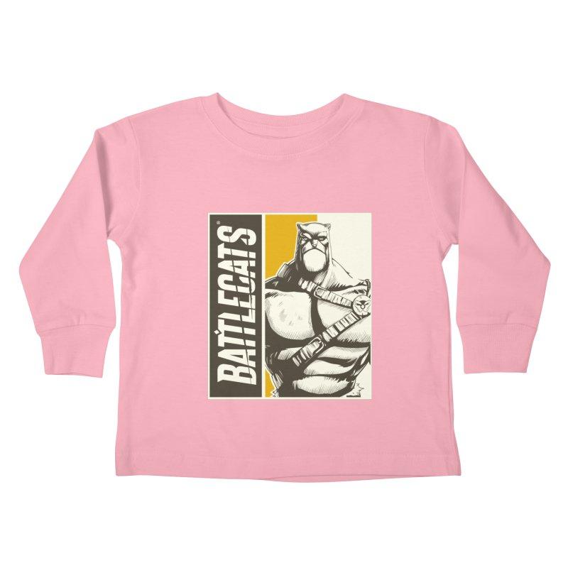 Battlecats - Zorien Kids Toddler Longsleeve T-Shirt by Mad Cave Studios's Artist Shop