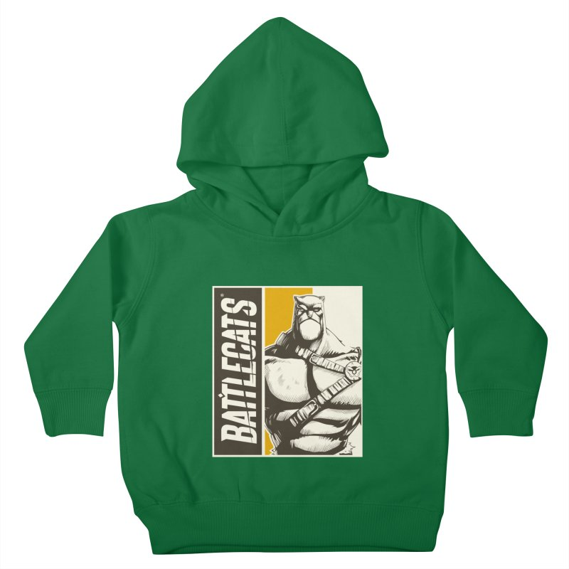 Battlecats - Zorien Kids Toddler Pullover Hoody by Mad Cave Studios's Artist Shop