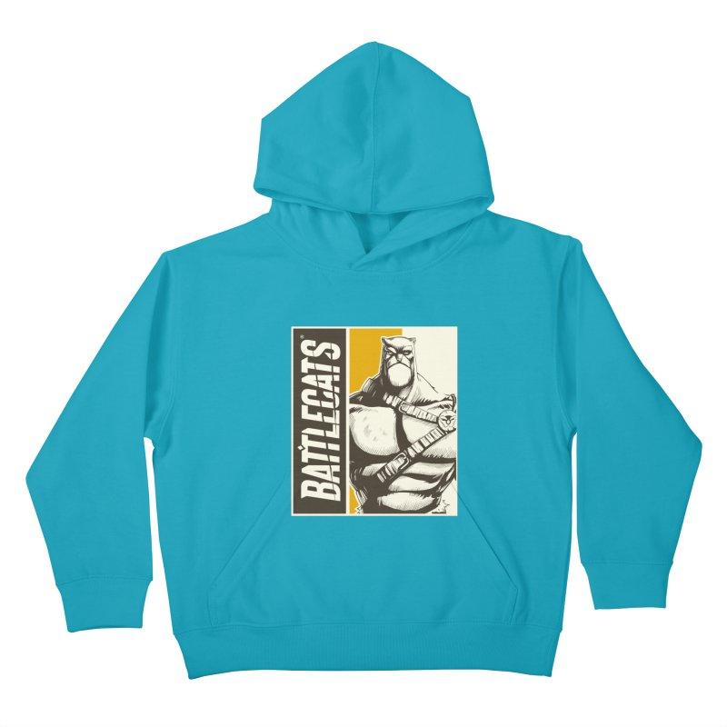 Battlecats - Zorien Kids Pullover Hoody by MadCaveStudios's Artist Shop