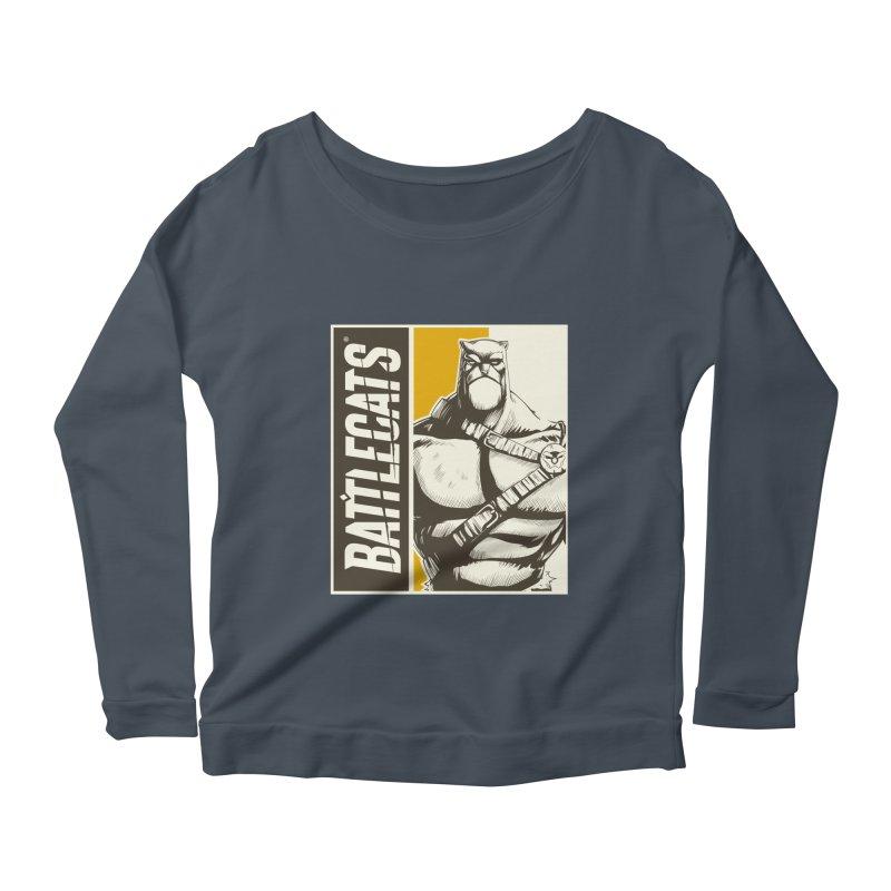 Battlecats - Zorien Women's Scoop Neck Longsleeve T-Shirt by Mad Cave Studios's Artist Shop
