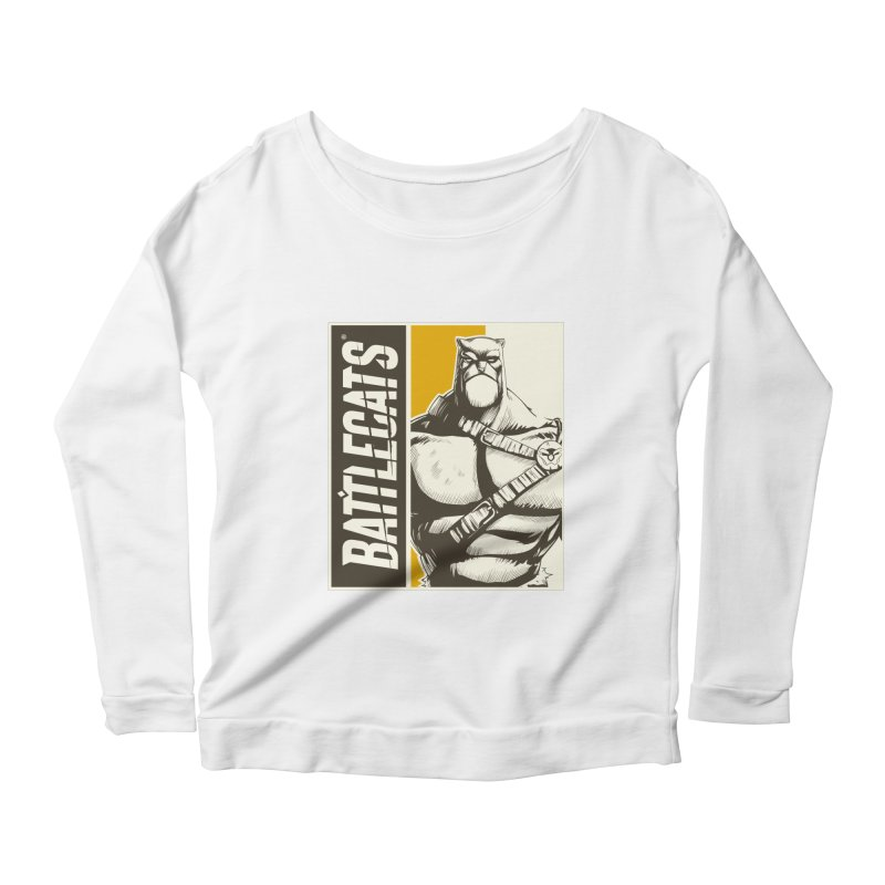 Battlecats - Zorien Women's Scoop Neck Longsleeve T-Shirt by Mad Cave Studios's Artist Shop