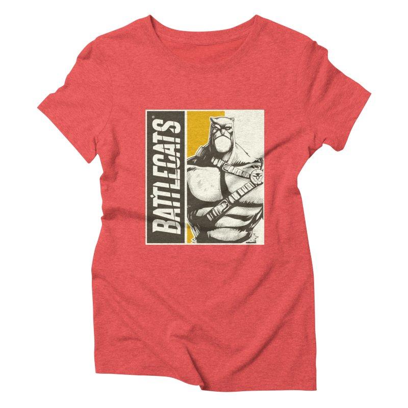 Battlecats - Zorien Women's Triblend T-Shirt by Mad Cave Studios's Artist Shop